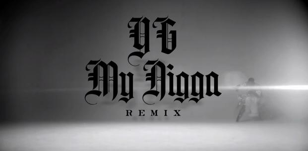 paroles yg my nigga
